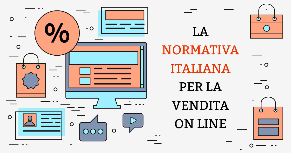 Normativa Italiana per vendita online
