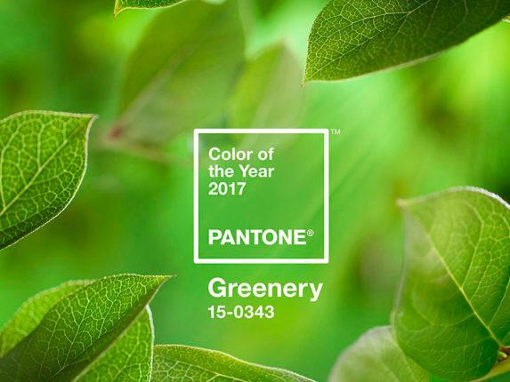 Nuovo Colore Pantone 2017 Greenery