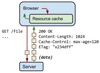 cache http del browser