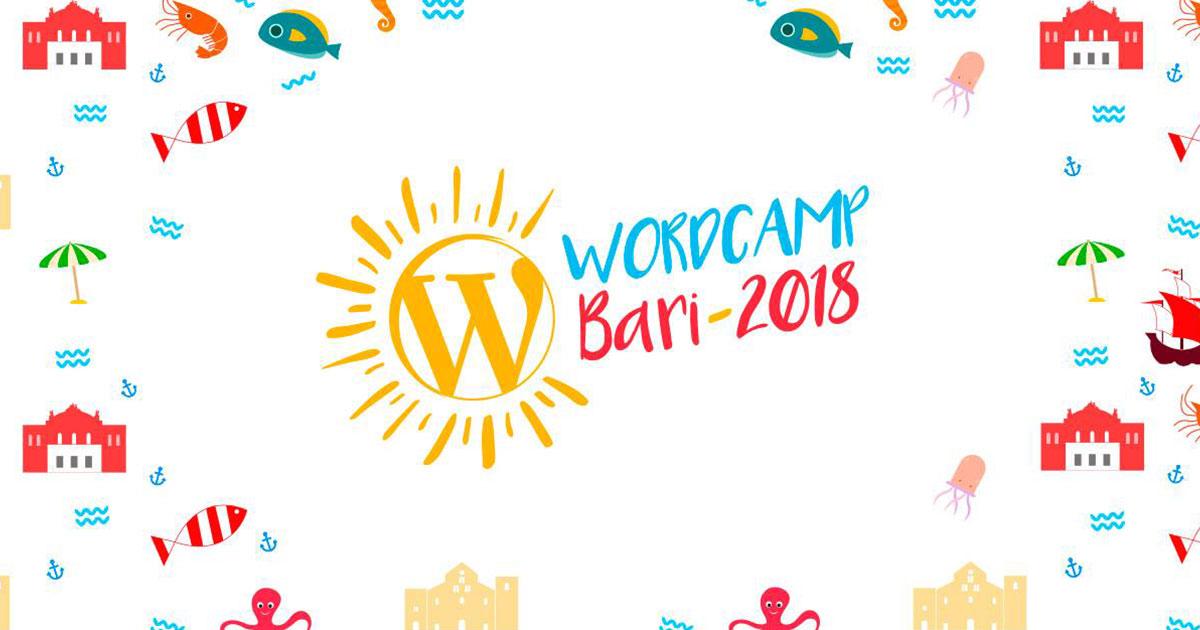 Copertina WordCamp Bari 2018