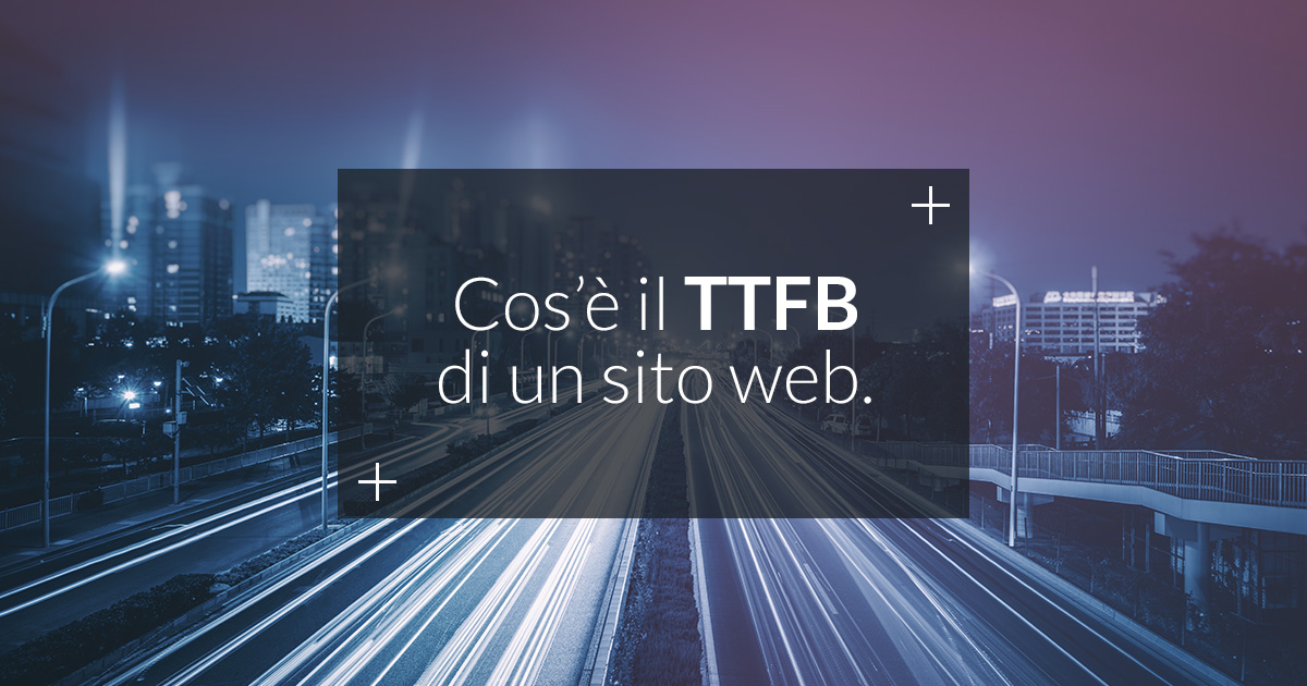 time to first byte sito web
