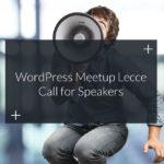 Facciamo crescere il WordPress Meetup Lecce