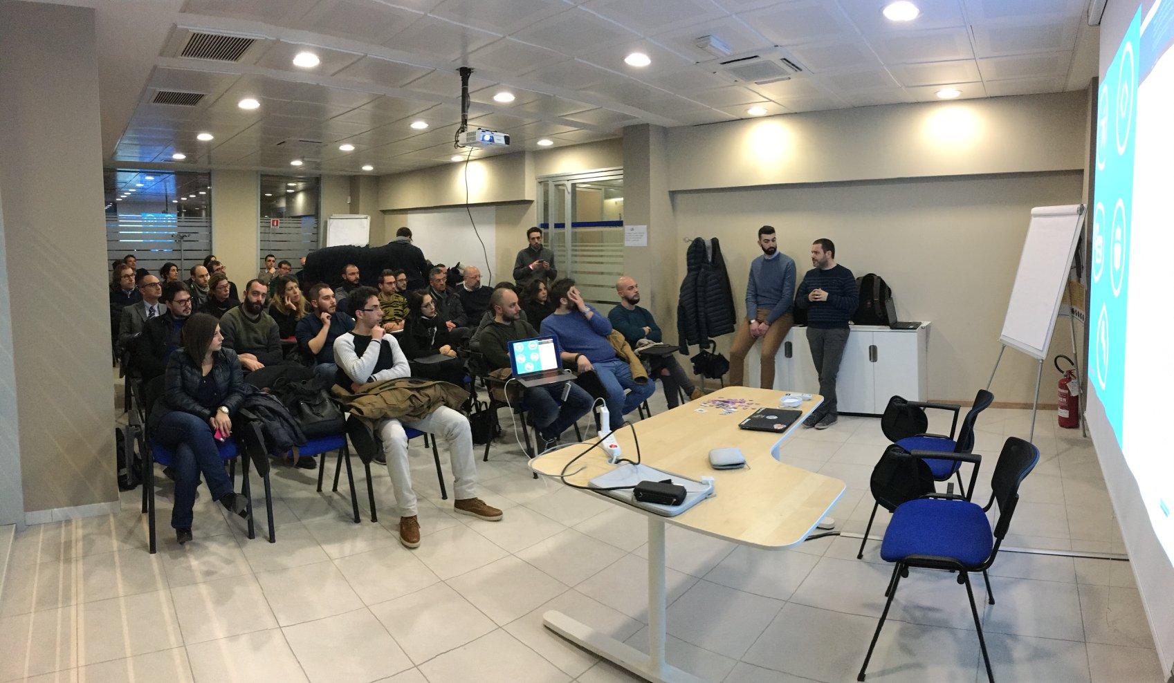 partecipanti primo meetup wordpress lecce