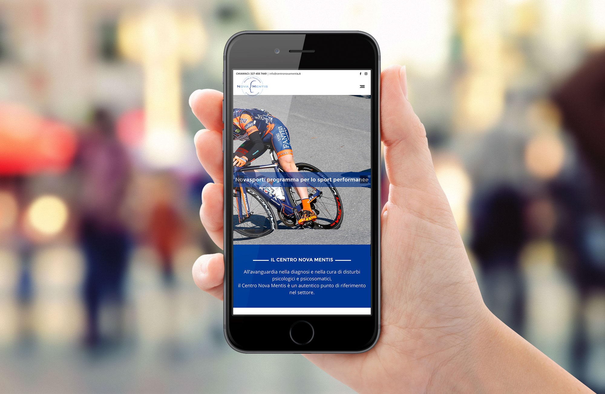 simulazione mobile sito nova mentis