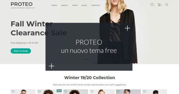 PROTEO Tema gratuito WordPress