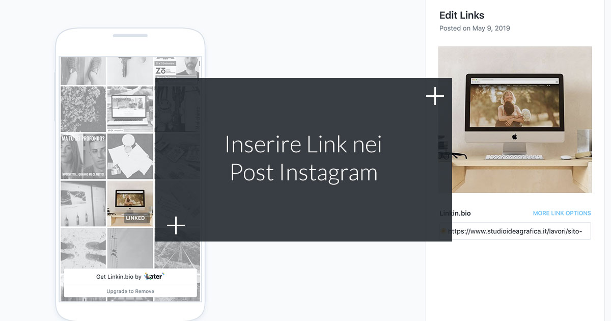 Inserire link nei Post Instagram