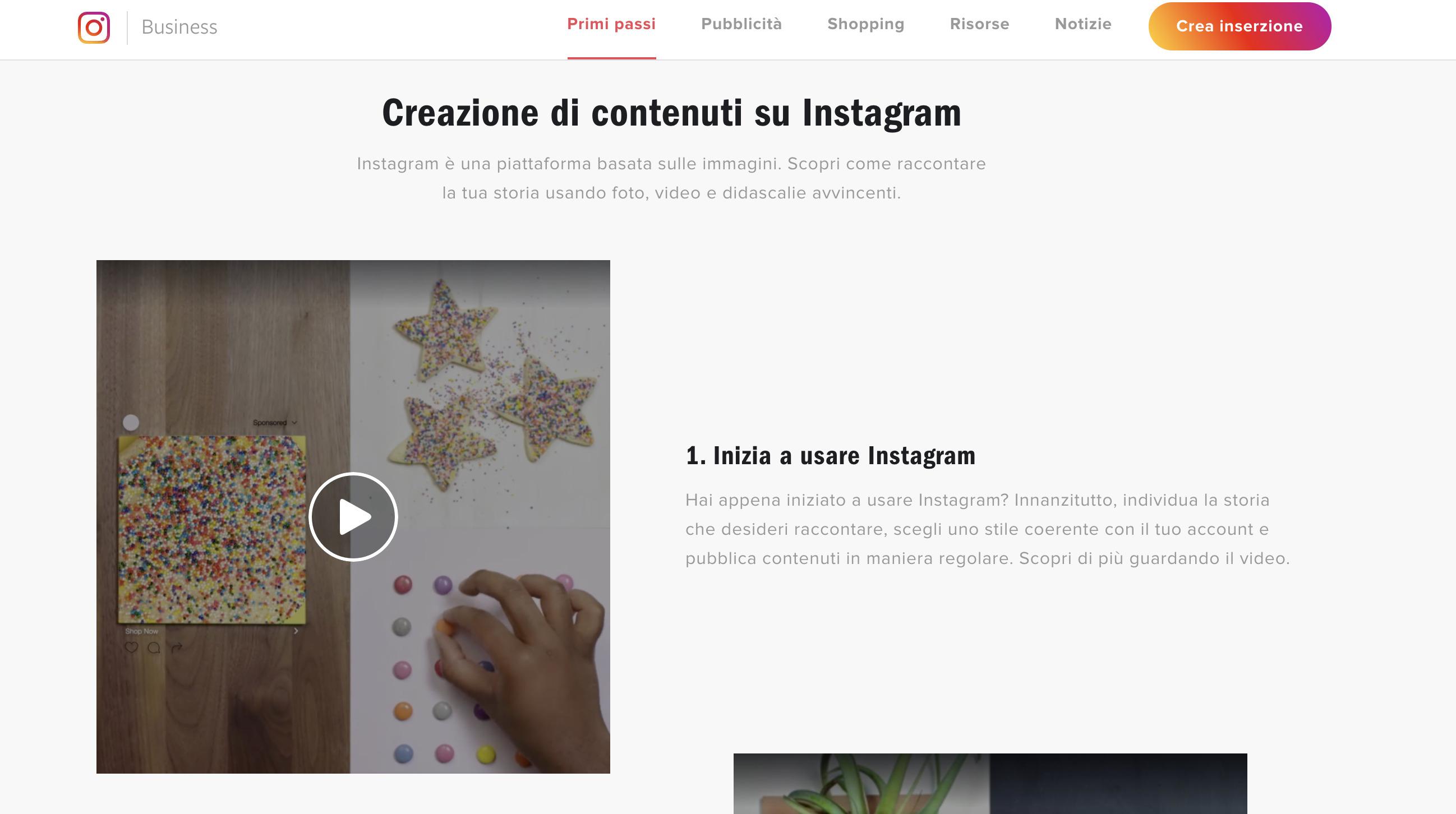 primi passi instagram per aziende